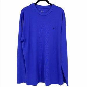 MEN's Nike Long Sleeve Dri fit shirt (Sz XL)